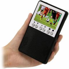 エスキュービズム  【送料無料】 APR-02B 3インチ液晶ポータブルワンセグTV/FM・AMラジオ (APR02B) 【新品・税込】