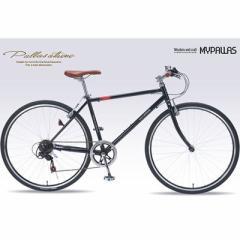 マイパラス  【送料無料】 M-604-BK クロスバイク700C・6SP (M604BK) 【新品・税込】