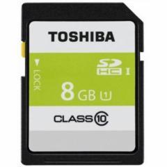東芝  【送料無料】 SD-AR40N08G 高速SDHC UHS-Iメモリカード Class10対応 8GB (SDAR40N08G) 【新品・税込】