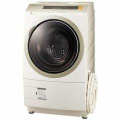シャープ  【送料無料】 ES-ZP1-NR ドラム式洗濯乾燥機 (洗濯10.0kg/乾燥6.0kg・右開き) ゴールド系 (ESZP1NR) 【新品・税込】