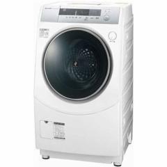 シャープ  【送料無料】 ES-ZH1-WL ドラム式洗濯乾燥機 (洗濯10.0kg/乾燥6.0kg・左開き) ホワイト系 (ESZH1WL) 【新品・税込】