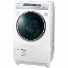 シャープ  【送料無料】 ES-ZH1-WR ドラム式洗濯乾燥機 (洗濯10.0kg/乾燥6.0kg・右開き) ホワイト系 (ESZH1WR) 【新品・税込】