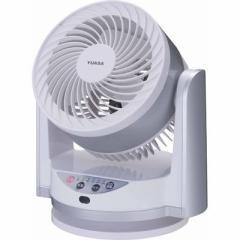 YUASA  【送料無料】 YCL-15VFR-WS リモコン式首振り卓上扇風機 (YCL15VFRWS) 【新品・税込】