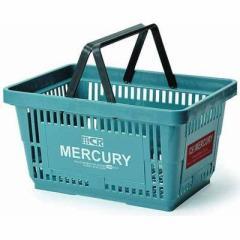 MERCURY  【送料無料】 EE-02023 カゴ マーケット 買物バスケット ブルー アメリカ雑貨 (EE02023) 【新品・税込】