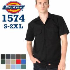 ディッキーズ (Dickies) ワークシャツ 半袖 メンズ ワークシャツ ディッキーズ 作業服 シャツ 半袖 アメカジ 父の日