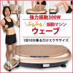 2019年最新モデル 【安心の日本メーカー】ぶるぶる振動マシン ウェーブ 業界最安値 1日まずは5分から 立つだけ簡単ダイエット