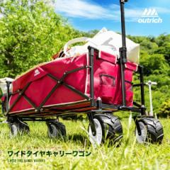 キャリーカート キャリーワゴン 折りたたみ 4輪 アウトドアキャリー ワゴン 台車 軽量 コンパクト アウトドア キャンプ レジ