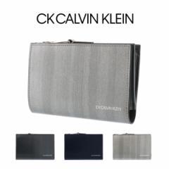 カルバンクライン プラティナム 二つ折り財布 ボルダー メンズ 839615 Calvin Klein platinum CK シーケー 本革