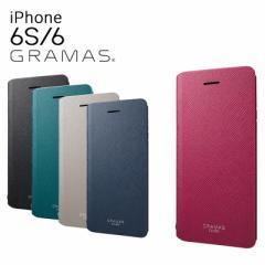 グラマスカラーズ GRAMAS COLORS iPhone6 ケース GCLC4006 スマホケース カバー 手帳型ケース マグネットフラップ