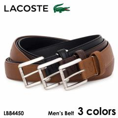 ラコステ ベルト メンズ LB84450 LACOSTE 牛革 本革 レザー 日本製