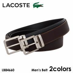 ラコステ ベルト メンズ LB84660 LACOSTE 牛革 本革 レザー 日本製