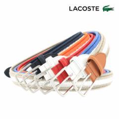 ラコステ ベルト メンズ LB86210 LACOSTE コットン 日本製 ブランド専用BOX付き