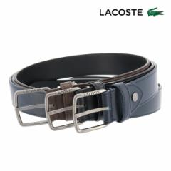 ラコステ ベルト メンズ LB86470 LACOSTE 日本製 牛革 本革 レザー ブランド専用BOX付き