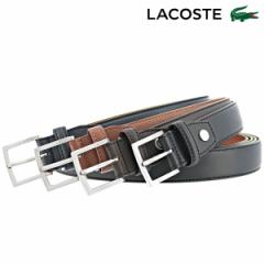 ラコステ ベルト メンズ LB86565 日本製 LACOSTE カジュアル ビジネス 牛革 本革 レザー