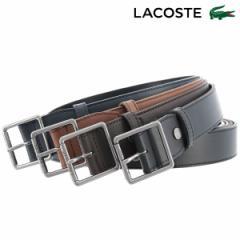 ラコステ ベルト メンズ LB86875 日本製 LACOSTE カジュアル ビジネス 牛革 本革 レザー