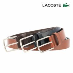 ラコステ ベルト メンズ 日本製 LB86970 LACOSTE 牛革 本革 レザー ブランド専用BOX付き