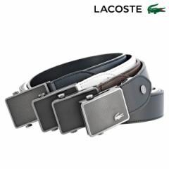 ラコステ ベルト メンズ LB87280 日本製 LACOSTE カジュアル ビジネス 牛革 本革 レザー