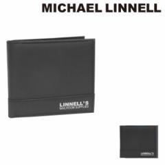 マイケルリンネル 二つ折り財布 メンズ レディース MLWA-AC-100 MICHAEL LINNELL
