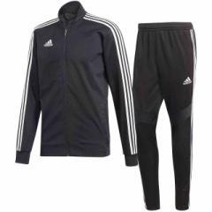 アディダス  adidas TIRO19 トレーニングジャケット&パンツ 上下セット ブラック×ブラックホワイト