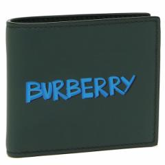 バーバリー 二つ折り財布 メンズ BURBERRY 4077162 39400 グリーン