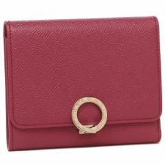 ブルガリ 折財布 レディース BVLGARI 286314 ピンク