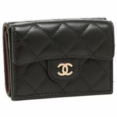 シャネル 折財布 レディース CHANEL A84401 Y04059 C3906 ブラック