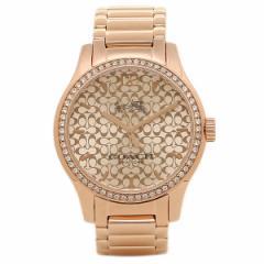 コーチ 腕時計 レディース COACH W6214 B7M シルバー ローズゴールド