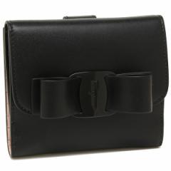 フェラガモ 折財布 レディース Salvatore Ferragamo 22D268 0691208 ブラック