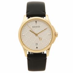 グッチ 腕時計 レディース GUCCI YA1264027 ブラック イエローゴールド シルバー