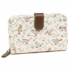 キャスキッドソン 折財布 レディース CATH KIDSTON 770026 ホワイト