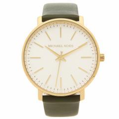マイケルコース 腕時計 レディース MICHAEL KORS MK2831 グリーン イエローゴールド