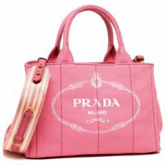 プラダ トートバッグ レディース PRADA 1BG439 ZKI F0HTJ ピンク ホワイト