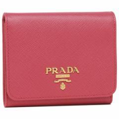 プラダ 折財布 レディース PRADA 1MH176 QWA F0505 ピンク