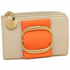 シーバイクロエ 折財布 レディース SEE BY CHLOE CHS19UP864572 868 オレンジ