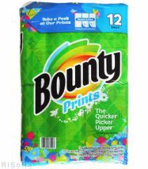 【送料無料※一部地域除く:国内配送品】【コストコ】Bounty バウンティ 12ロール 123シート キッチンペーパー ペーパー