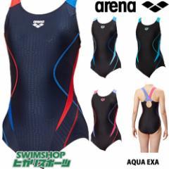 アリーナ ARENA フィットネス水着 レディース サークルバック ぴったりパッド 着やストラップ ジオダイヤWR FLA-88