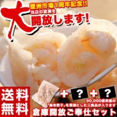 福袋 棚卸 倉庫開放ご奉仕セット えび エビ 海老餃子50個+2品 冷凍 送料無料