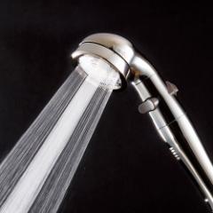 手元ストップ節水シャワーヘッド プロ・プレミアム(ステンレスコート スカルプケアモデル) 687634