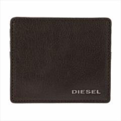 ディーゼル メンズ カードケース DS-X03921PR271-T2189 T2189 ダークブラウン