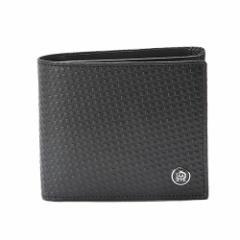 ダンヒル メンズ 二つ折り財布 MICROD-EIGHT L2V332A ブラック