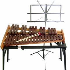 コオロギ シロフォン 高級卓奏木琴 ECO32:スタンドセット こおろぎ社