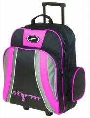Storm 1 Ball Rolling Bag ボウリングバッグ Pink Black Gray 米国直輸入品