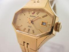 ラドー RADO 腕時計 レディース ゴールド【中古】