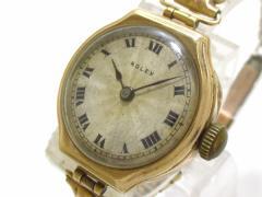 ロレックス ROLEX 腕時計 - レディース ベージュ【中古】