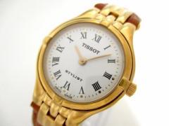 ティソ TISSOT 腕時計 V136/236 レディース 革ベルト 白【中古】