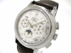 ゼニス ZENITH 腕時計 クロノマスター T 01.0240.410 メンズ シルバー【中古】