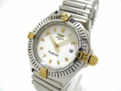 ブライトリング BREITLING 腕時計 カリスティーノ B52043 レディース SS 白【中古】