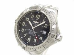 ブライトリング BREITLING 腕時計 スーパーオーシャン A17345 メンズ SS 黒【中古】