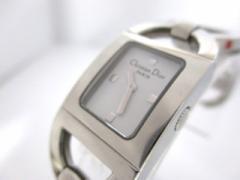 ディオール ChristianDior 腕時計 パンディオラ D78-108 レディース 白【中古】