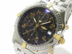 ブライトリング BREITLING 腕時計 クロノマット ビコロ B13050.1 メンズ SS×YG/クロノグラフ/ 黒【中古】